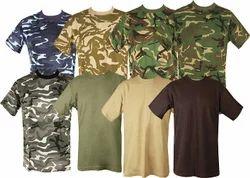 0f990ea2 Mens Kids Ladies Hosiery Navy Military Army Printed T- Shirts Garments