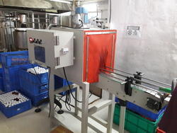Mild Steel Bottle Shrinking Wrapping Machine