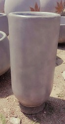 Cylinder Cement Flower Pot
