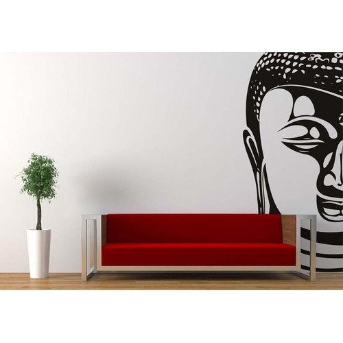 Mono Colored Buddha Wall Decals