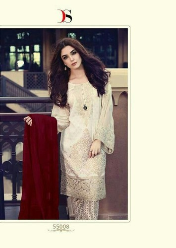 1bba8cb950 Casual Wear Medium Pakistani Designer Suits, Rs 2200 /piece | ID ...