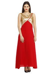 Golden Sequin Dress