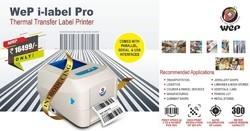 Barcode Label Printer - WeP I Label Pro, Resolution: 203 DPI (8 dots/mm)