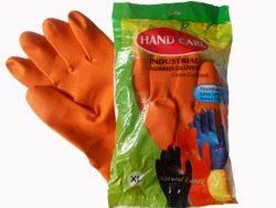 Handcare Comfort Industrial Rubber Hand Gloves
