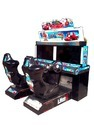 Indoor Amusement Video Car Race