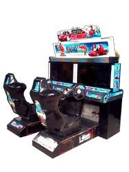 Indoor Amusement Video Car Race