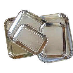 Rectangle Paper Plate  sc 1 st  IndiaMART & Rectangle Paper Plate at Rs 8 /packet(s) | Disposable Paper Plate ...