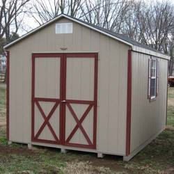 FRP Portable Storage Shed