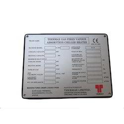 Anodized Aluminium Labels In Pune एनोडाइज़्ड एल्युमिनियम