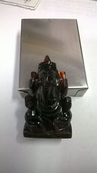 Hessonite Ganesha Idol