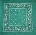 Cotton Black Square Fancy Printed Bandana