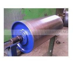 Vibromag Stainless Steel(SS) Magnetic Pulley, Capacity: 0.5 ton
