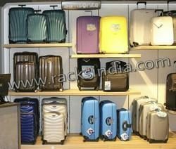 Display Rack For Travel Luggage Bags & Suitcases