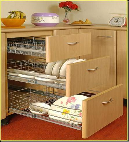 kitchen drawers cutlery pan drawers manufacturer from new delhi