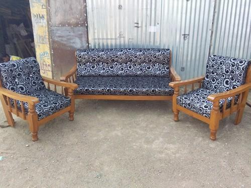 Wood Mini Sofa
