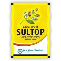Sulphur 80% DP Contact Fungicide, For Agriculture, 25Kg