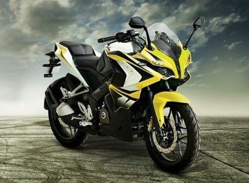 bajaj pulsar 200 rs abs motorcycle afro asiatic exporters mumbai