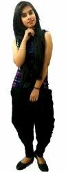 Noor Black Harem Pants