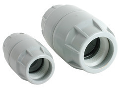 CKE Push Fit Coupler, HDPE Duct 40/33 mm