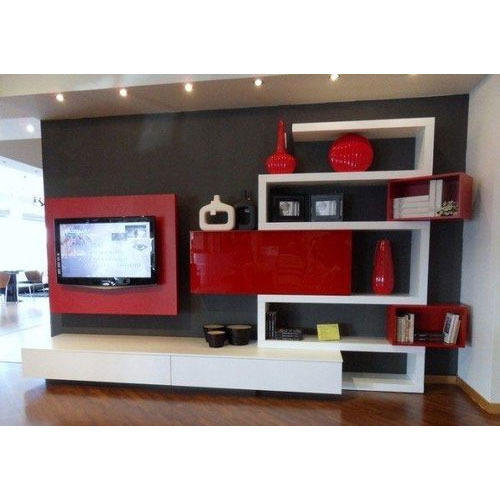 Living Room Cabinet Design In India: Designer TV Cabinet At Rs 40000 /piece
