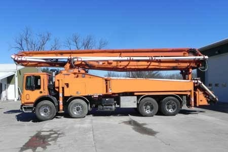 Construction Equipments on lease - Truck Mounted Concrete Boom Pump