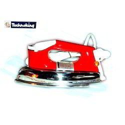 Electronic Red Steam Iron
