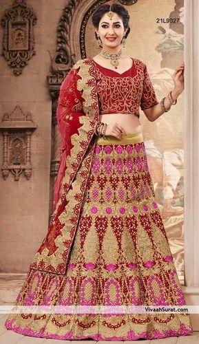 9fba26ce14 Beautiful Bridal Lehenga choli at Rs 6000 /unit(s) | Bridal Lehanga ...