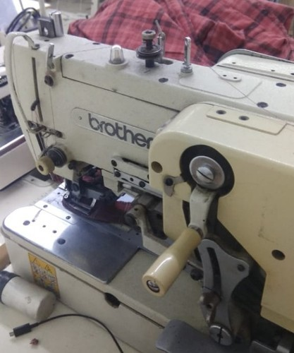 SemiAutomatic Brother Button Hole Machine LS40i Rs 40 Unique Brother Button Sewing Machine