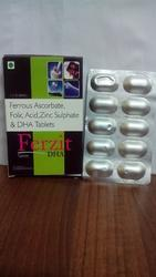 Ferrous Ascorbate, Folic Acid, Zinc Sulphate and DHA Tablets