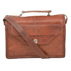 Genuine Leather iPad Messenger Bag 133