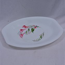 Printed Rice Plate
