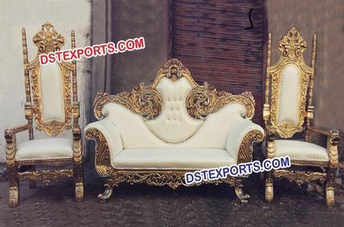 Golden Maharaja Brass Metal Sofa Set Dst Exports Patiala Id