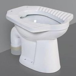 Wall & Floor Mount P Trap S Trap Glaze Water Closet , Packaging Type: Box