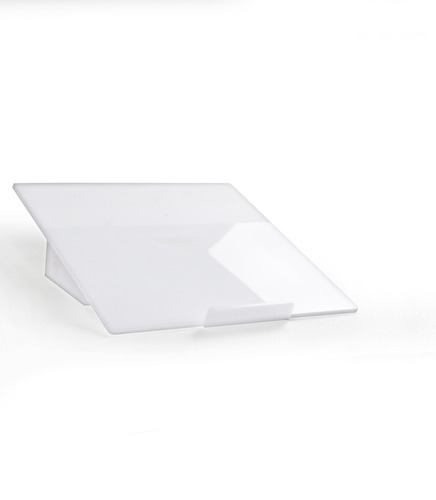 White Acrylic Laptop Stand