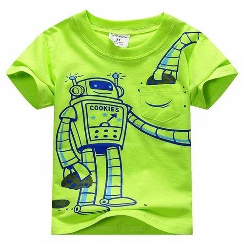 ccf10257 Kids Printed T-Shirt, Children Printed T-Shirts, किड्स ...
