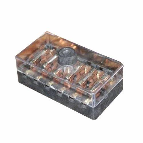 6 pole fuse box with glass fuse jagdamba electronics (india), new Glass Light Box