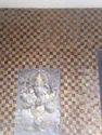 Vinayagar embossed wall tiles