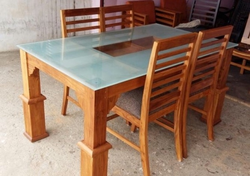 Dining TableWooden Dining Table Manufacturers  Suppliers   Dealers in Kochi  . Dining Table Set Price In Kerala. Home Design Ideas