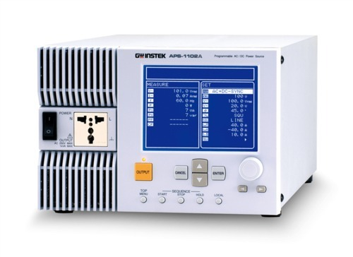 Programmable AC & DC Power Source-1KVA-APS1102A
