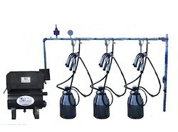 Fixed Type Three Bucket Milking Machine