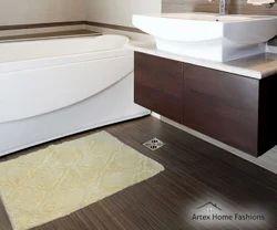 Cream Lattice Bathmats