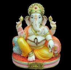 Makrana Marble Ganpati Statue