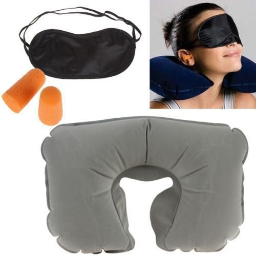 d246cb761 3 in 1 Travel Set-Air Neck Pillow Cushion-Eye Mask-Ear Plug at Rs ...
