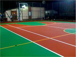 Synthetic Sports Floor