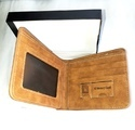 PU Suede Leather Mens Wallet