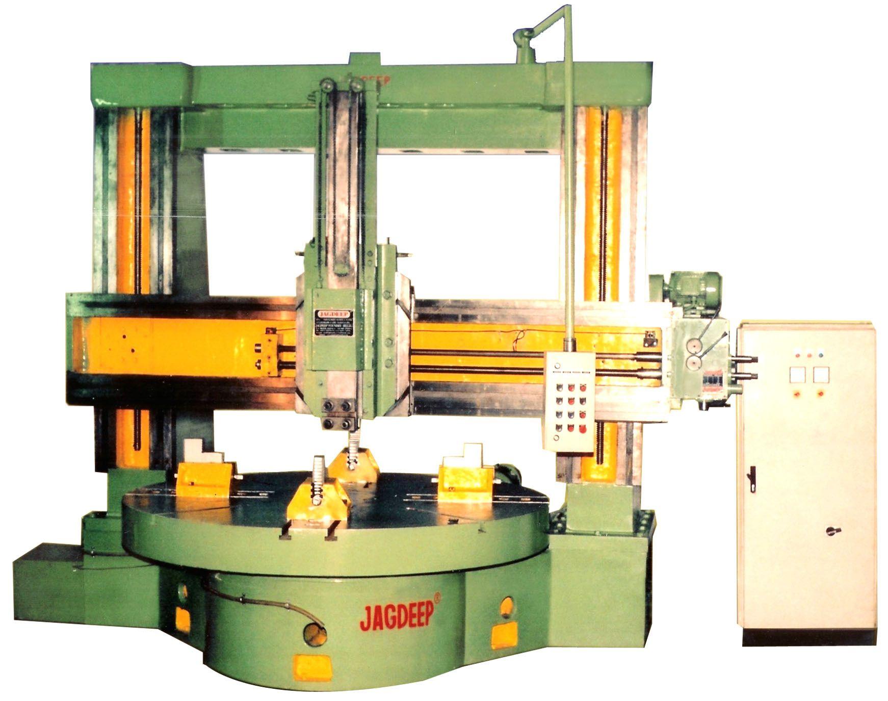 Semi-automatic Jagdeep Vertical Turning Lathe Machine, Jvt 2