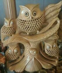 Wooden Owl Family Tree