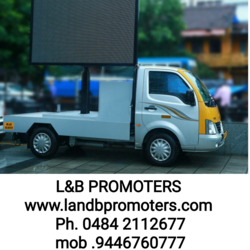 LED Outdoor Vehicle Advertising