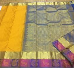 South Indian Kanchipuram Silk Saree