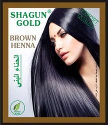 Shagun Gold Brown Original Mehandi, Usage: Personal & Parlour